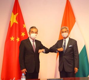 China-India Foreign Ministers Meet in Dushanbe