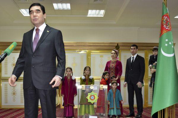 Image Serdar Berdimuhamedov and Turkmenistan's Digital Transformation