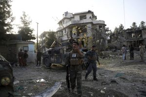 Taliban Claim Attack in Kabul as Cries of Defiance Echo