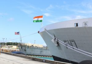 The Quad Conducts Malabar Naval Exercise
