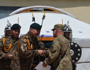 The Mongolian Armed Force's Contribution to Afghanistan