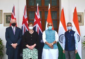 Australia-India 2+2 Dialogue: Converging Interests