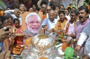 BJP Goes to Town With Modi's Birthday Bash