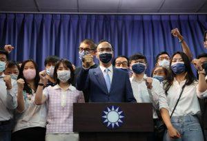 Eric Chu Wins KMT Chair Election