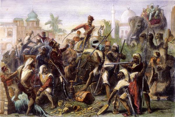 La visión de la historia de una novela india: el diplomático